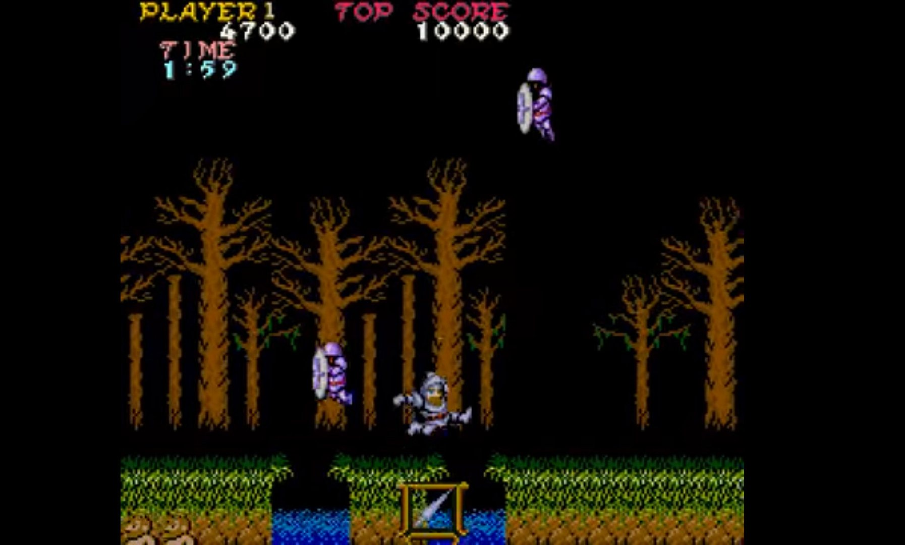 Ghosts 'n Goblins (Capcom, 1985)