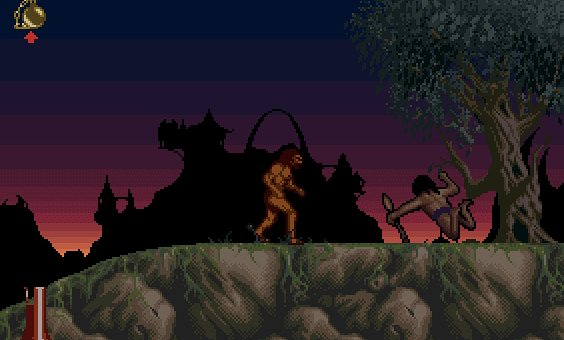 Shadow of the Beast II (Psygnosis, 1990)
