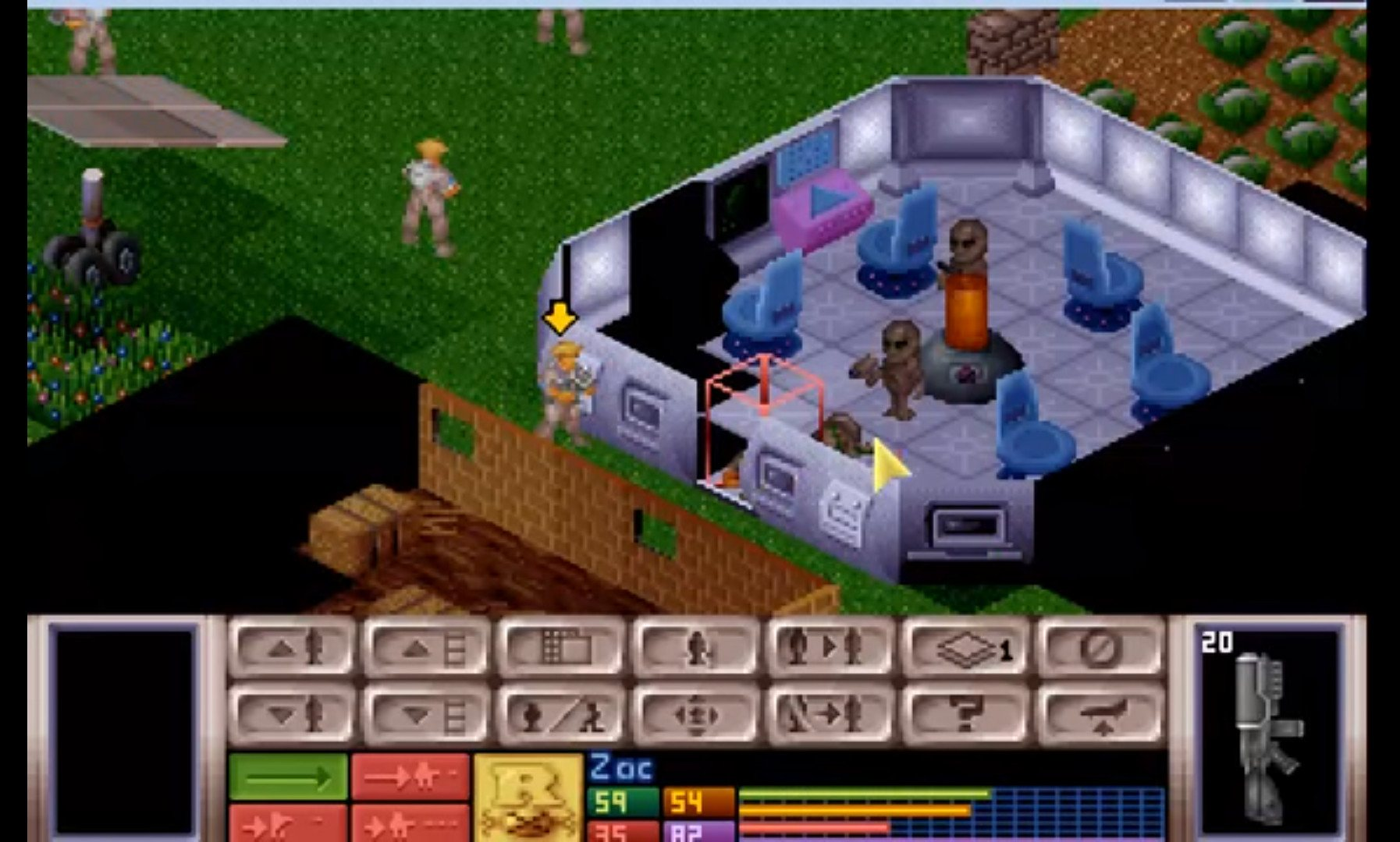 UFO Enemy Unknown (Mythos Games, 1994)