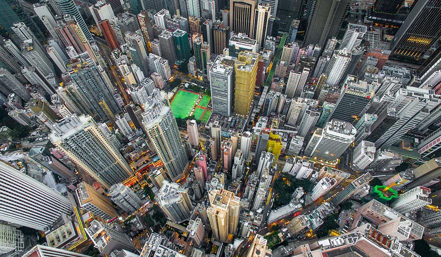 κτήρια στο Hong Kong