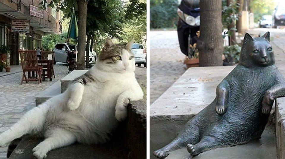 cat-statue